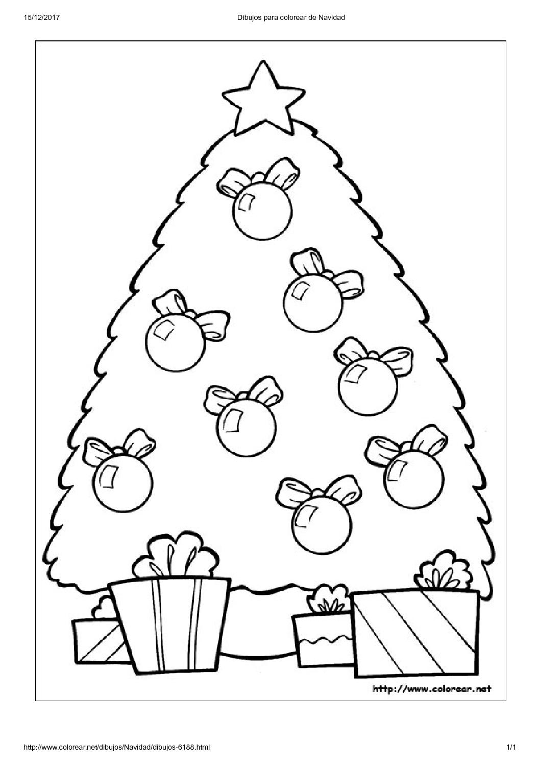Niñeras en Madrid | Dibujos para colorear de Navidad9 - Care For Kids